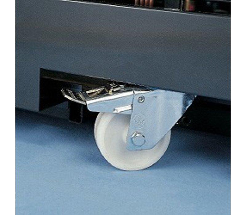 Diamond Kit 4 castors - 2 with brake