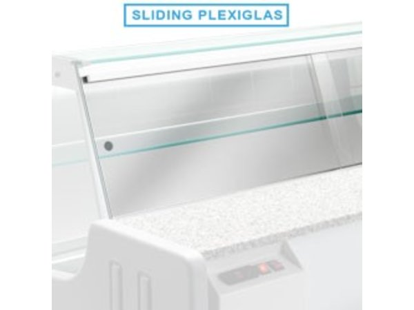 Diamond Kit Schuivend Plexiglas   MELODY 1500mm