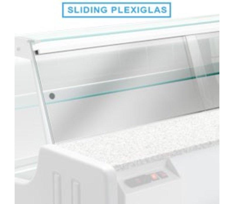 Diamond Kit Schiebetüren Plexiglas | MELODY 1500mm