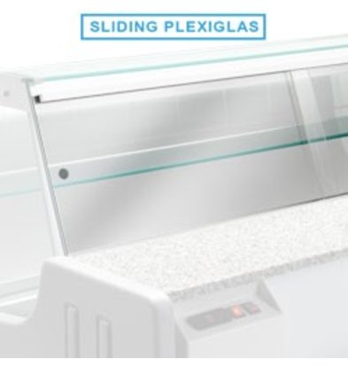 Diamond Kit Schiebetüren Plexiglas | Jinny 1500mm