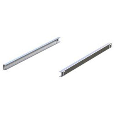 Diamond Rails RVS (Rechts & Links) | 562x25(h)mm