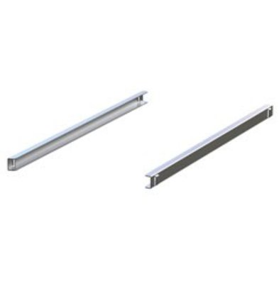 Diamond Stainless steel rails (Right & Left) | 562x25 (h) mm