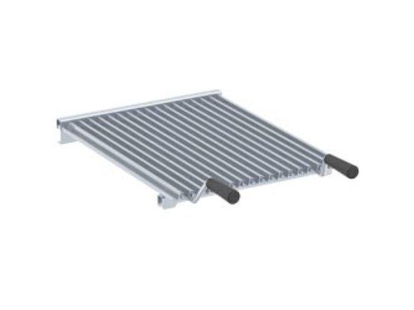 Diamond Grilling Z-shape 1/2 or 1/1 Module Module (2x) | 400x490mm