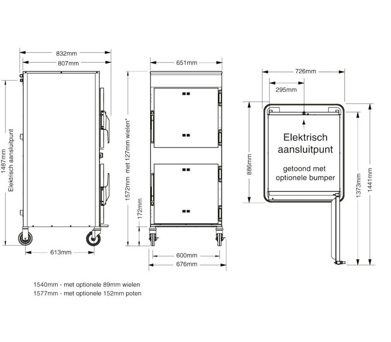 Alto Shaam Rookoven   Alto Shaam 1767-SK/III   Elektrisch   6,2kW   Max. 45kg Per Compartiment