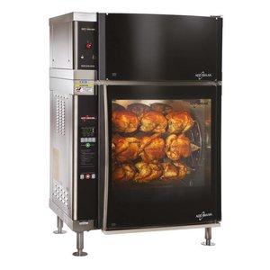 Alto Shaam Rotisserie-Ofen   Alto Shaam AR-7EVH   8,8kW   28 Hühner (7 Graben oder 7 Scales)   Netto Brutto 218kg und 258kg