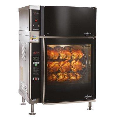 Alto Shaam Rotisserie-Ofen | Alto Shaam AR-7EVH | 8,8kW | 28 Hühner (7 Graben oder 7 Scales) | Netto Brutto 218kg und 258kg