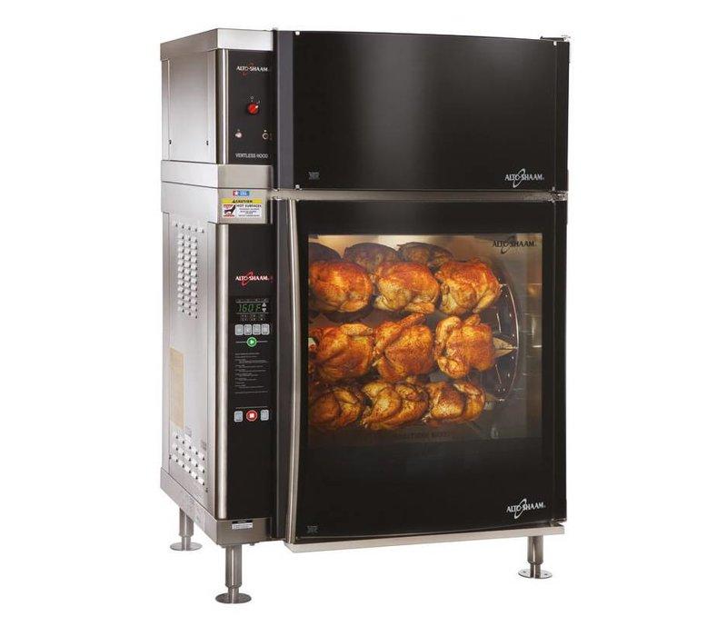 Alto Shaam Rotisserie-Oven | Alto Shaam AR-7EVH | 8,8kW | 28 Kippen (7 Spitten of 7 Schalen) | Netto 218kg en Bruto 258kg