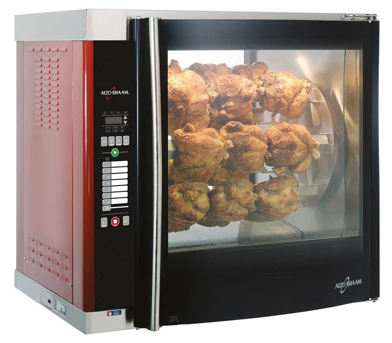 Alto Shaam Rotisserie-oven | Alto Shaam AR-7E | 8,8kW | 28 Chickens (7 Digging or 7 Scales) | Net Gross 164kg and 245kg