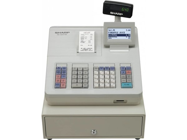 Sharp Sharp cash register XE-A207W - Thermal Printer (NO INK REQUIRED) - 2000 Products - Product 99