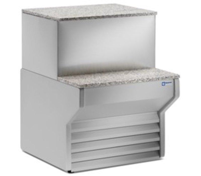 Diamond Cashier section | Worktop Granite | 700x790x660 / 990 (h) mm