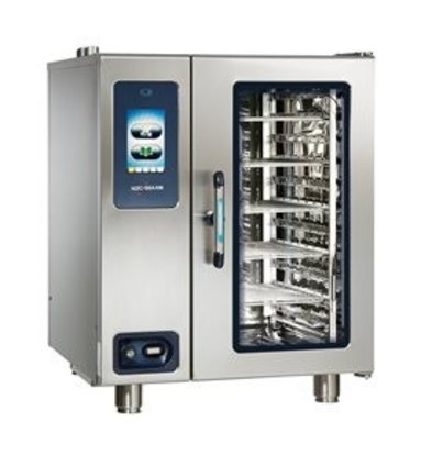 Alto Shaam Combi Therm Ofen | Kombidämpfer | Alto Shaam CTP10-10G Proformance | Gas | 1kW | 10 x1 / 1GN