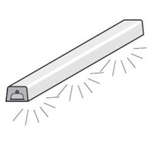 Diamond Verlichtingselement (Neon) | Bovenstructuur | 1455(l)mm