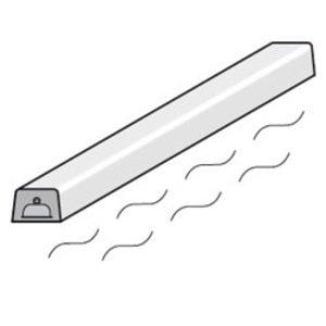 Diamond Verwarmingselement + Weerstand | Bovenstructuur | 1455(l)mm