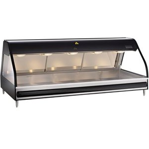 Alto Shaam Heated display case | Alto Shaam ED2-72 / P Self-Black | Self-service Opening 1811mm