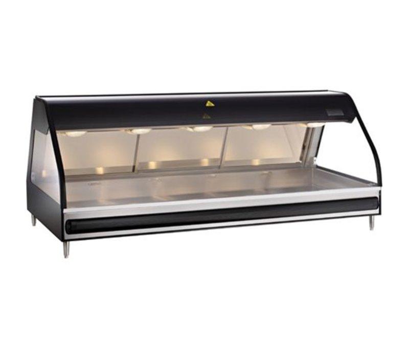 Alto Shaam Heated display case | Alto Shaam ED2-72 / P Self-Black | Self-service Opening 1811mm