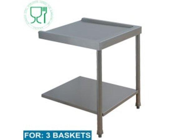 Diamond An -und Entsorgung Tabelle (alle Modelle) | 1600x575x850 / 1000 (h) mm