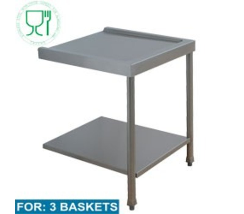 Diamond At -and Disposal Table (All Models) | 1600x575x850 / 1000 (h) mm