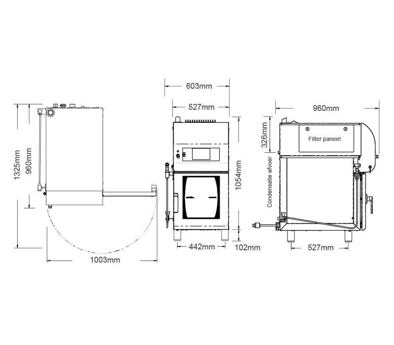 Alto Shaam Combitherm Oven | Combisteamer | Alto Shaam CTX4-10EVH | Elektrisch | 7,67kW | 10 x1/1GN