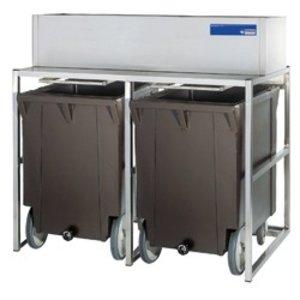 Diamond Storage Bins With Wheels | 2x 108kg (ICE350IS)