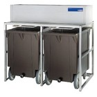 Diamond Storage Bins With Wheels | 2x 108kg (ICE300MA)