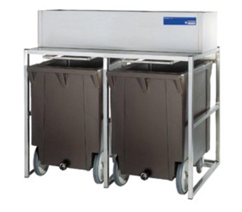 Diamond Storage Bins With Wheels | 2x 108kg (ICE300MA)