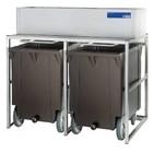 Diamond Storage Bins With Wheels | 2x 108kg (ICE155MA)