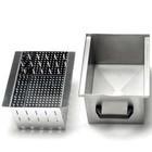 Diamond Optie: Bak RVS Met Filter Voor Afvoer (10-18kg)