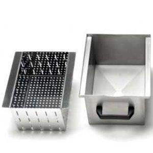 Diamond Optional: Edelstahlbehälter mit Filter zur Beseitigung (10-18kg)