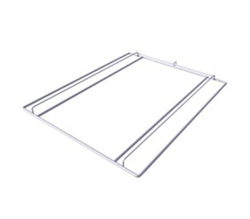 Diamond Struktur Rilsanbeschichtung   530x650x30 (h) mm