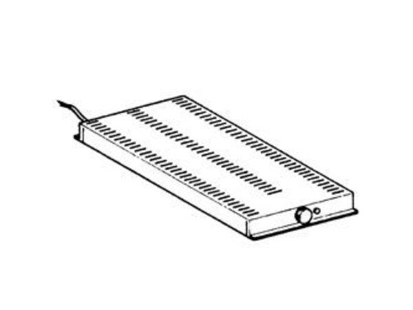 Diamond Heater | 530x650x50 (h) mm