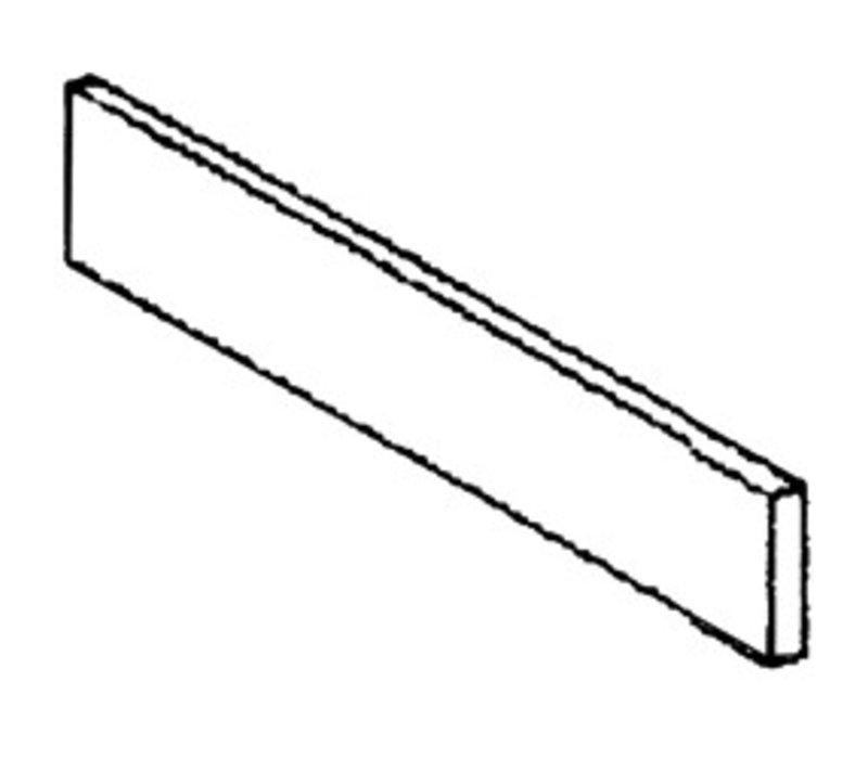 Diamond Edelstahl-Sockel | Seitliche Rechts | 570x110x20 (h) mm