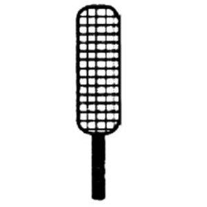 Diamond Mand RVS Voor Pastakoker | 95x295x230(h)mm