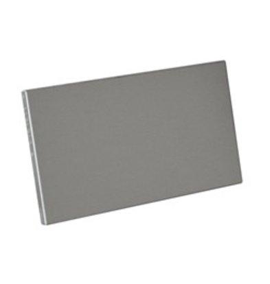 Diamond Seitliche Sockel Edelstahl | Left & Right | 175x515 (h) mm