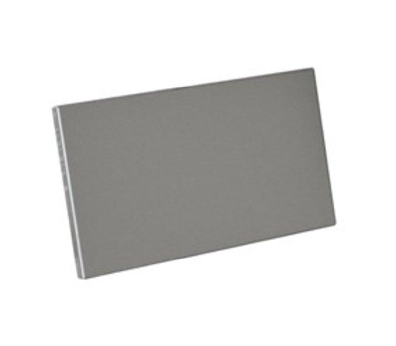 Diamond Laterale Plint RVS   Links & Rechts   175x515(h)mm