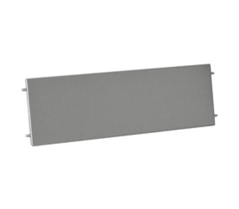 Diamond Frontal Plinth stainless steel   900x175 (h) mm