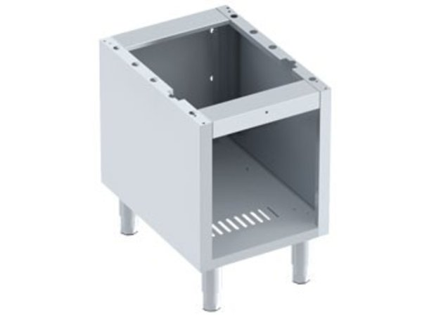 Diamond Open Frame SS | Front Grill 1/2 Module | Adjustable legs