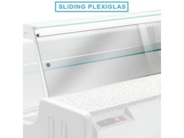 Diamond Plexiglass doors   1000mm