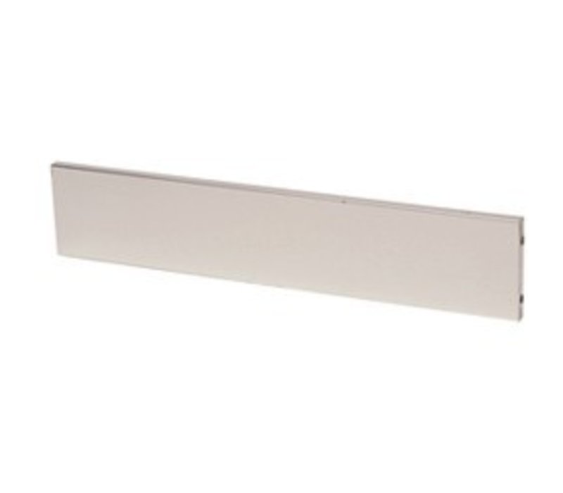 Diamond Frontal Plinth stainless steel | 1500mm