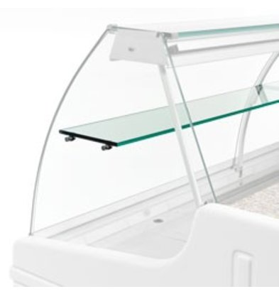 Diamond Optie: Tussenruit Voor Snackvitrine | 1500mm