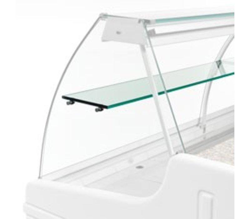 Diamond Optional: Für Zwischenplatte Snack Showcase | 1500mm