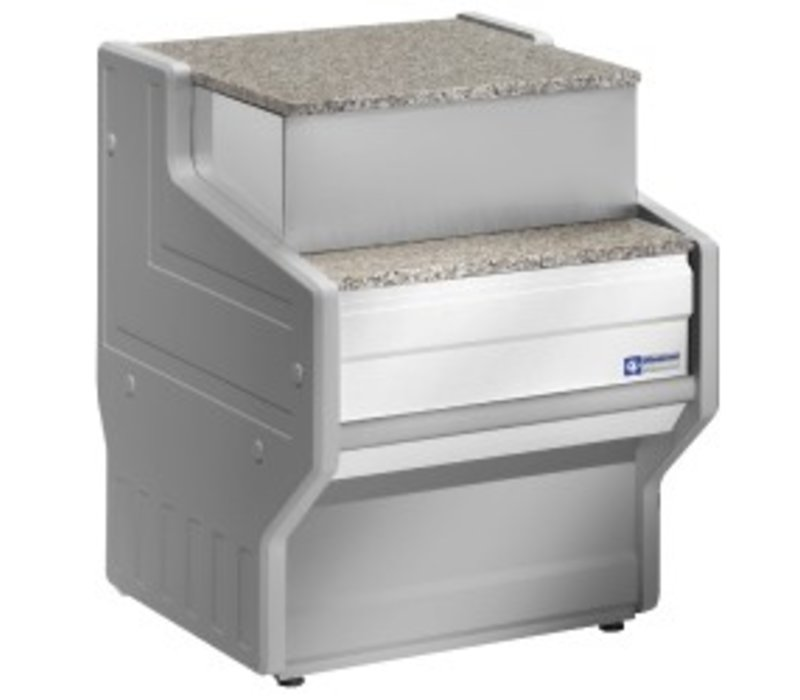 Diamond Cashier Section 700mm   Granite countertop