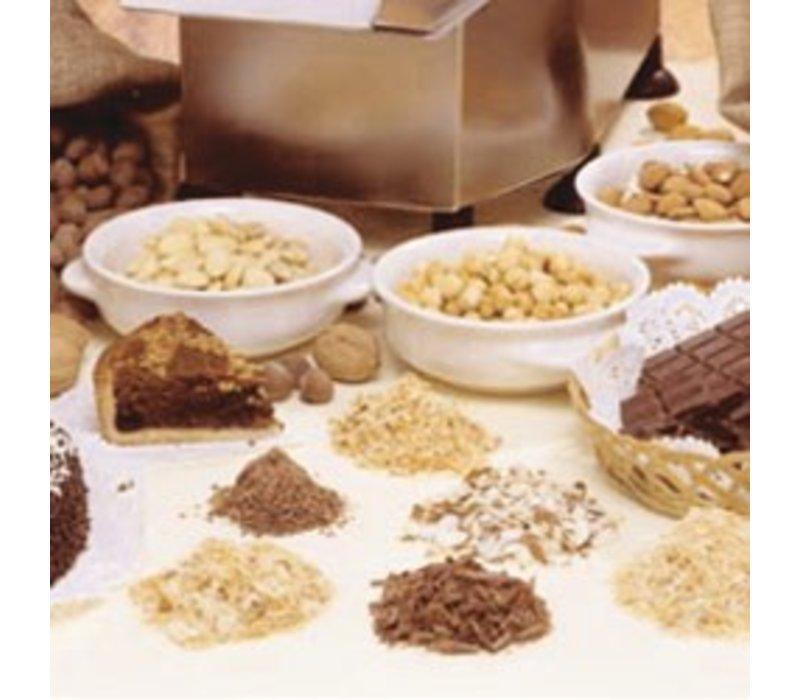 Diamond Granuliert Scheibe - für Schokoladen / Trockenfrüchte - 1,5mm