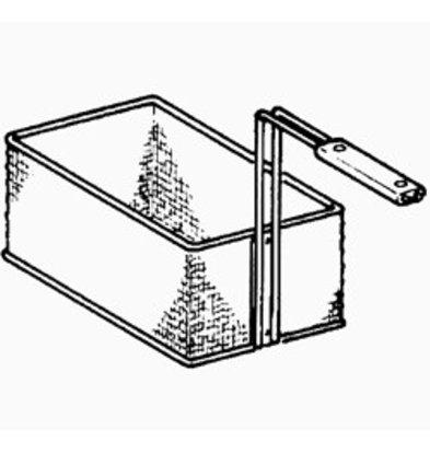 Diamond Basket for fryer 1/1 - 270x360x140 (h) mm
