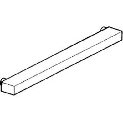 Diamond Bordensteun RVS | 700x70x40(h)mm