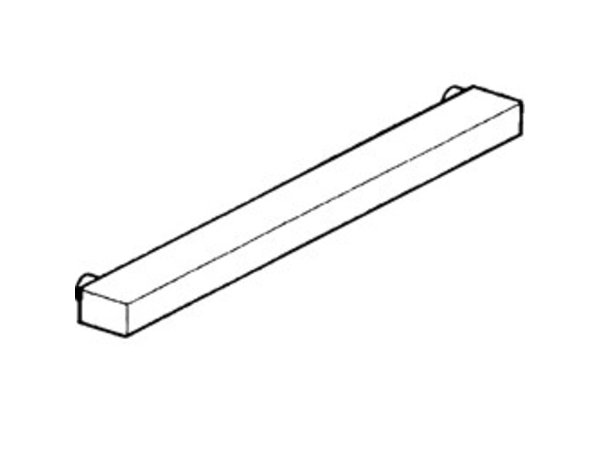 Diamond Signs Support SS   700x70x40 (h) mm