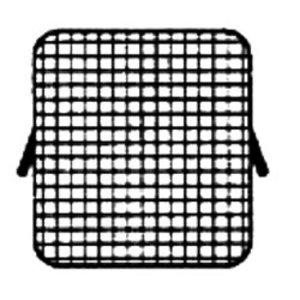 Diamond Edelstahlkorb für Nudelkocher | 2 Griffen | 300x325x230 (H) mm