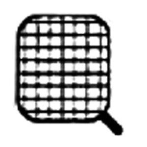 Diamond Edelstahlkorb für Nudelkocher   Griffseite   165x145x230 (H) mm