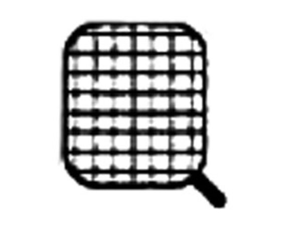 Diamond Edelstahlkorb für Nudelkocher | Griffseite | 165x145x230 (H) mm
