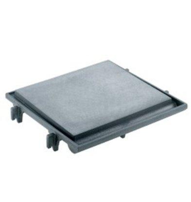 Diamond Platte Kookplaat | 1 Pits