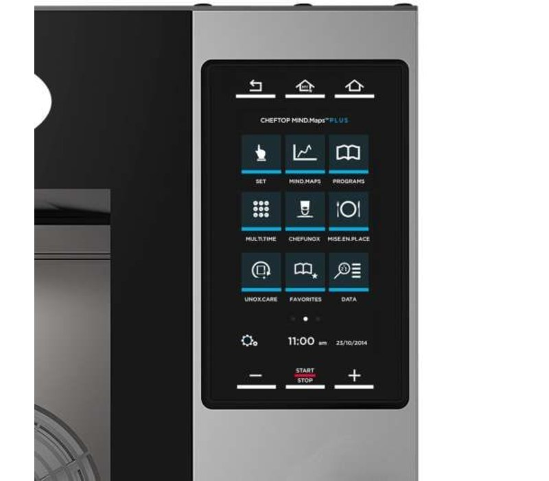 Unox Combisteamer Plus Gas Combi Oven | XEVC-1011-GPR | 10 x GN 1/1 | 750x773x1010(h)mm